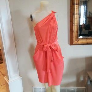 Rebecca Taylor coral dress
